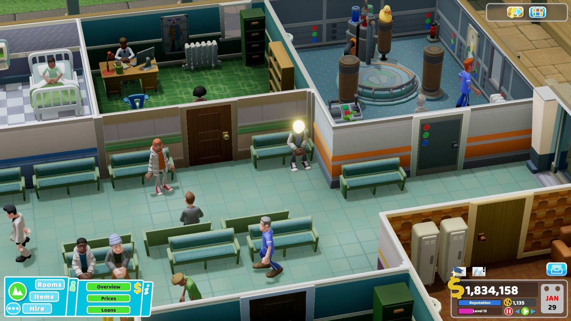 Light Headedness Two Point Hospital