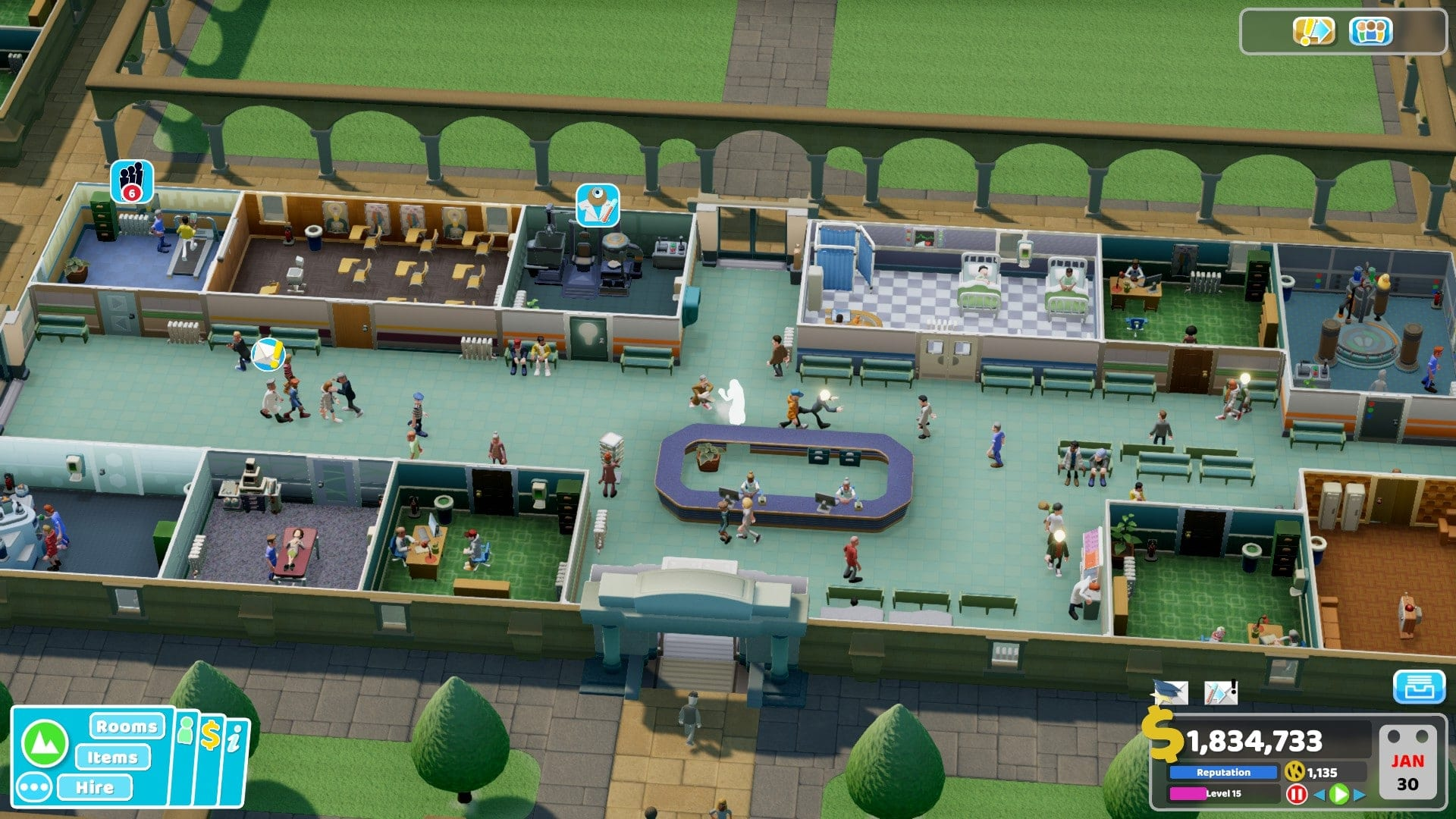 Theme hospital - two point hospital