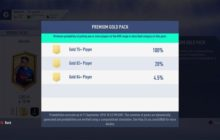 FIFA 19 Will Show 'Pack Odds' in Ultimate Team