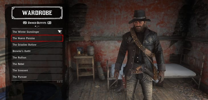 DLC Outfits Red Dead 2