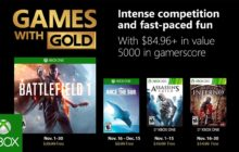 Battlefield 1 is free on Xbox Live Games with Gold in November