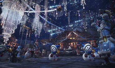 The Winter Star Fest has begun on Monster Hunter: World