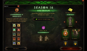Diablo 3's Season 16 has been revealed