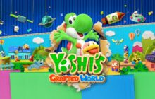 Switch exclusive Yoshi's Crafted World lands top of UK chart this week