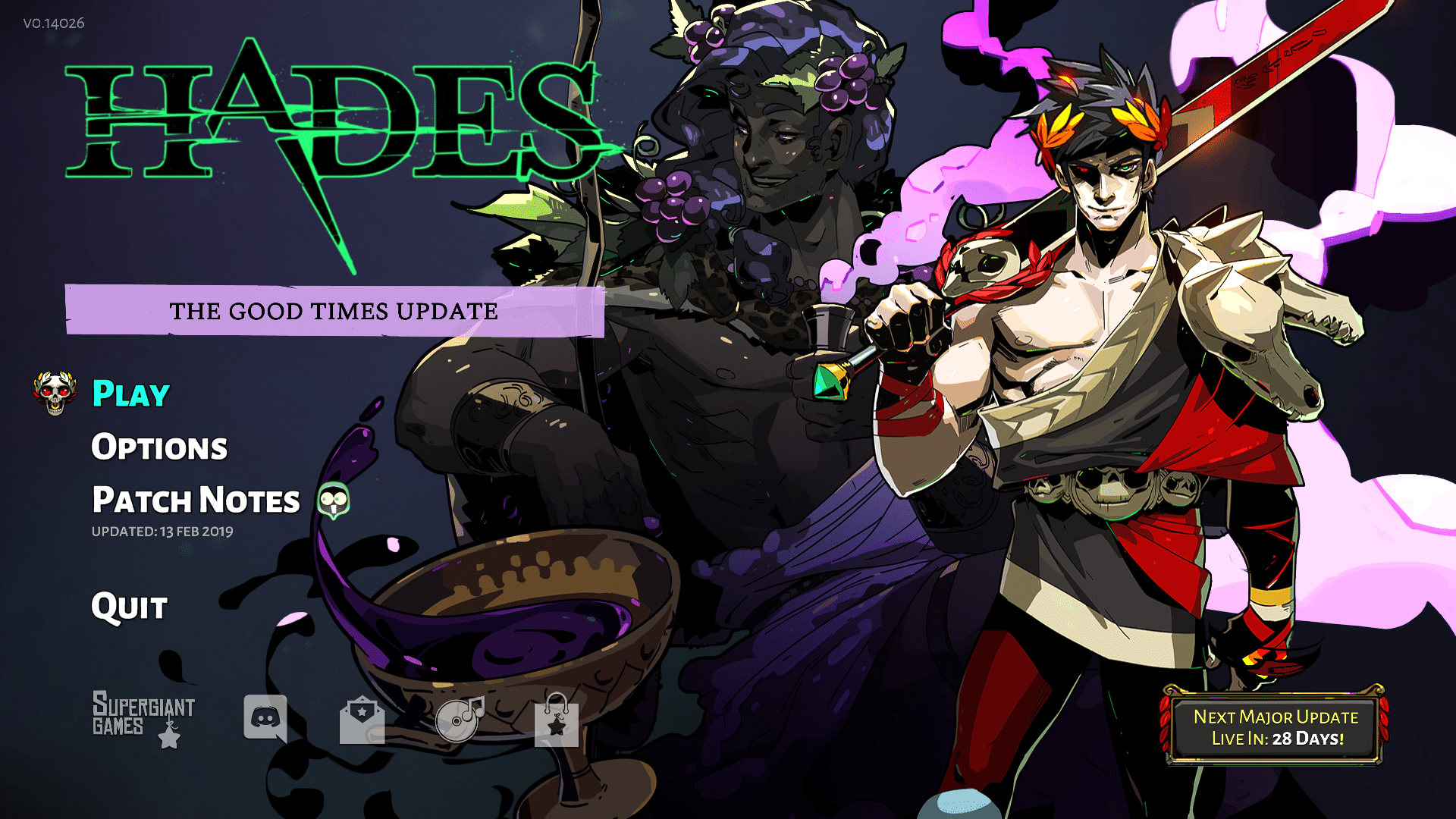 Hades The Good Times Update - A Detailed Look - BuffNerfRepeat