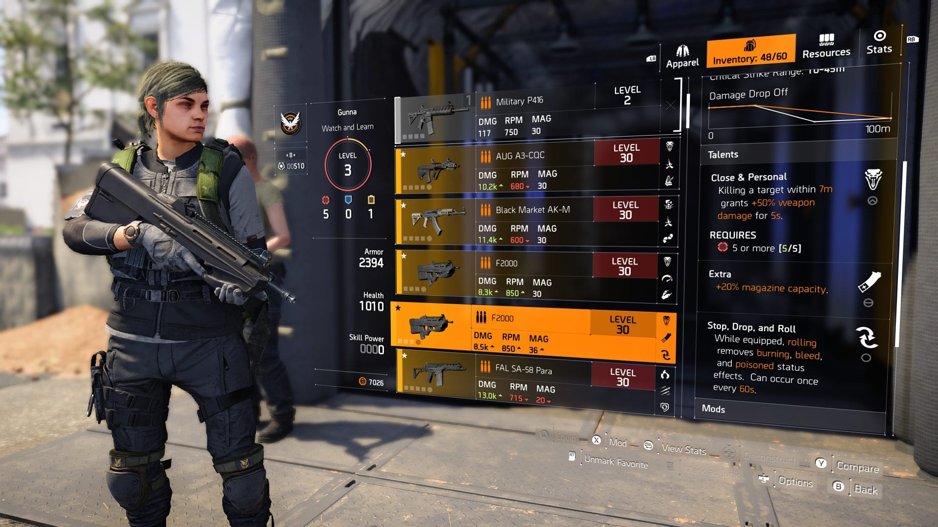 The best weapon talents in The Division 2 - BuffNerfRepeat