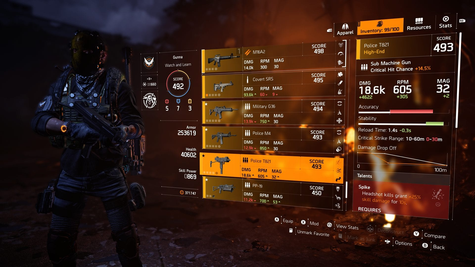 The best SMG's in The Division 2 - BuffNerfRepeat