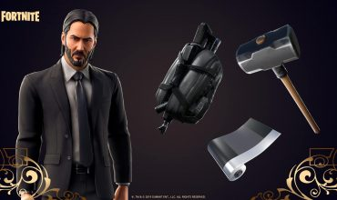There's a John Wick limited time mode available in Fortnite