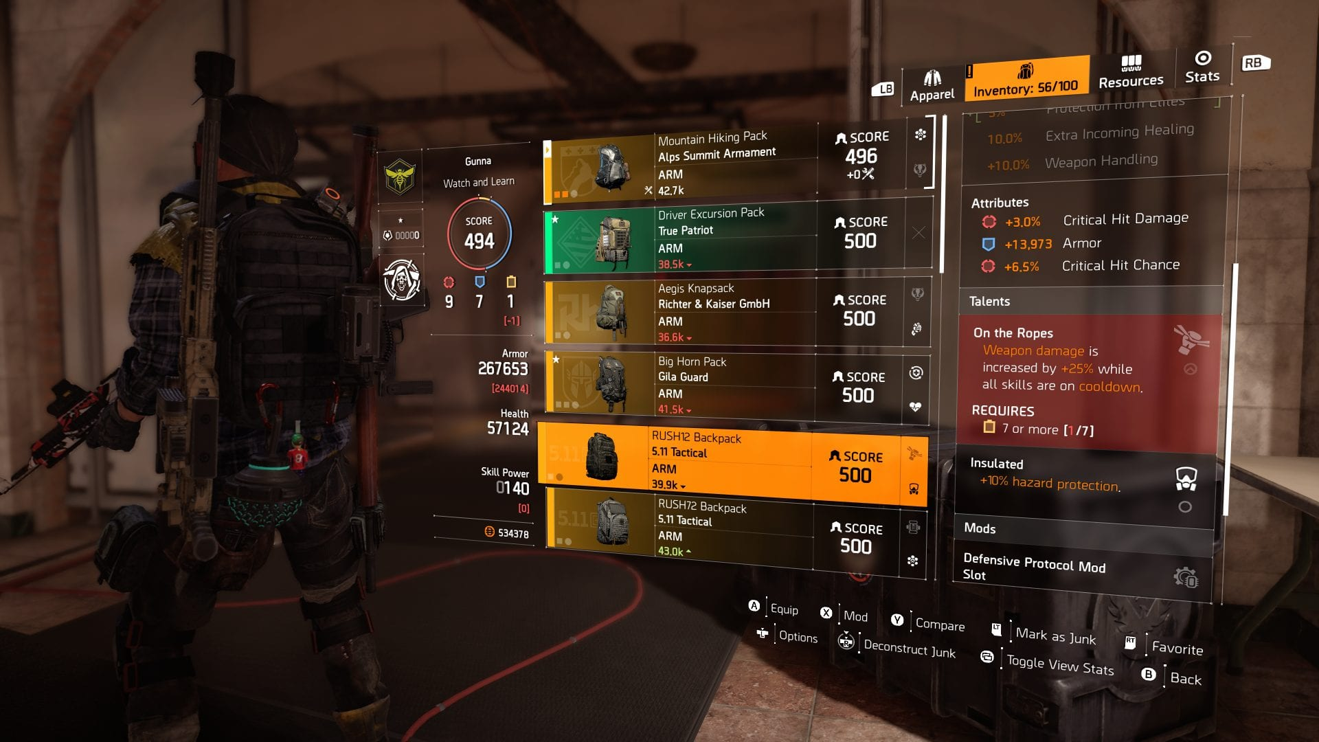 The Best Gear Talents In The Division 2 Buffnerfrepeat