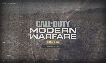 Call of Duty: Modern Warfare Beta Impressions