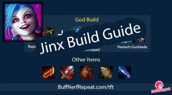 Best item build for Jinx in Teamfight Tactics (TFT)