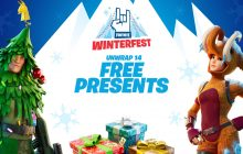Fortnite is giving away free skins during the festive period